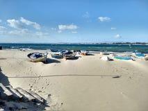 Пляж Hammamet стоковое изображение rf