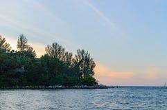 Пляж Hua в Пхукете Стоковое Фото