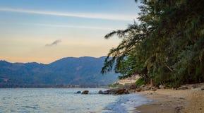 Пляж Hua в Пхукете Стоковые Фото