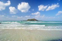 Пляж Hyeopjae Стоковые Изображения
