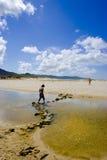пляж ii Стоковое Изображение