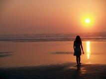 пляж III sopelana Стоковое Изображение RF