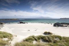 Пляж, Iona, Шотландия Стоковые Изображения RF