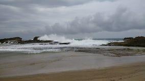Пляж Isabela Пуэрто-Рико Pesquera Стоковое Изображение RF