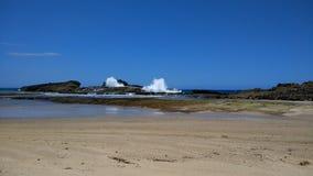 Пляж Isabela Пуэрто-Рико Pesquera Стоковое Изображение