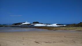 Пляж Isabela Пуэрто-Рико Pesquera Стоковое фото RF