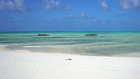 Пляж Jambiani, Занзибар стоковое изображение rf