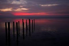 Пляж Karimun Ява Laendra Стоковое Фото