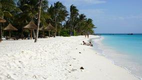 Пляж Kendwa, Занзибар стоковые изображения rf