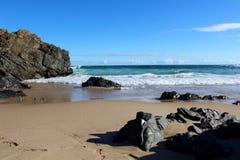 Пляж Keurbooms Стоковая Фотография