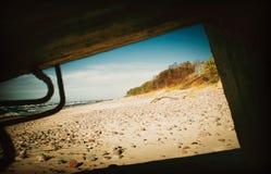 Пляж Klaipeda стоковое фото