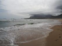 Пляж Klienmond Стоковая Фотография