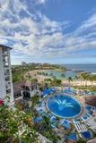 Пляж Ko Olina на гостинице Ihilani Стоковое Изображение