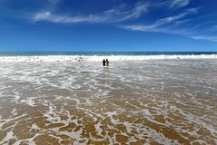 Пляж Kovalam стоковые изображения