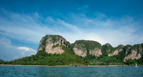 Пляж Krabi Таиланд Ao Nang Стоковые Фотографии RF