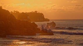 Пляж Kubu стоковые фото