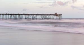 Пляж Kure, Северная Каролина стоковое изображение rf