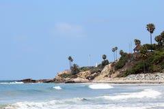Пляж Laguna, Калифорния Стоковые Фотографии RF