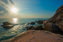 Пляж Lamai, Koh Samui, Таиланд Стоковое Фото