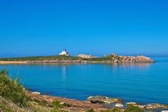 Пляж Le грандиозный phare Стоковое Фото
