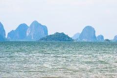 Пляж Mai Jao Стоковая Фотография RF