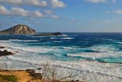 Пляж Makapu'u стоковые фотографии rf