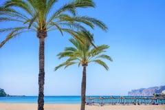 пляж mallorca стоковое изображение