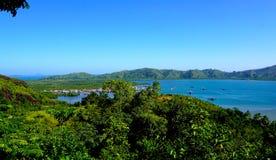 Пляж Mande, западное sumatera Стоковое Изображение