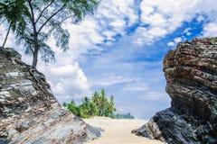 Пляж Marang Стоковая Фотография