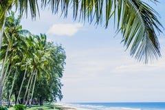 Пляж Marang Стоковое Изображение