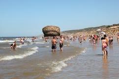 Пляж Matalascanas, Испания Стоковое Изображение