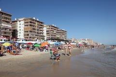 Пляж Matalascanas, Испания Стоковые Фотографии RF
