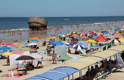 Пляж Matalascanas, Испания Стоковые Изображения