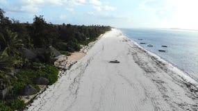 Пляж Matemwe, Занзибар стоковое изображение