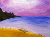 пляж maui Стоковые Фото