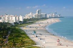 пляж miami Стоковое Изображение
