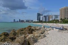 пляж miami стоковые изображения