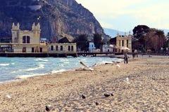 Пляж Mondello Стоковые Фото