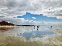 Пляж Muizenberg стоковое фото rf