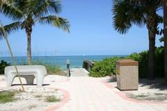 пляж naples Стоковые Изображения RF