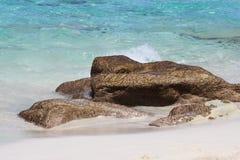 пляж nassau Багам Стоковое Изображение RF
