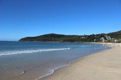 Пляж Noosa стоковые изображения rf