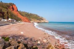 Пляж Oddicombe стоковое фото