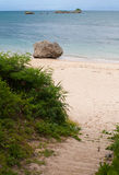 пляж okinawa Стоковые Изображения RF