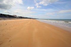 пляж omaha Стоковые Изображения