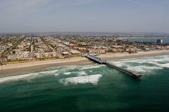 пляж pacific Стоковые Изображения RF