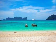 Пляж Phi Дон Phi Koh, островов Phi Phi, Таиланда стоковые фото