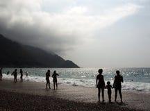 пляж porto стоковая фотография rf