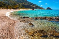 Пляж Potami стоковые фото