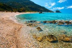 Пляж Potami стоковая фотография